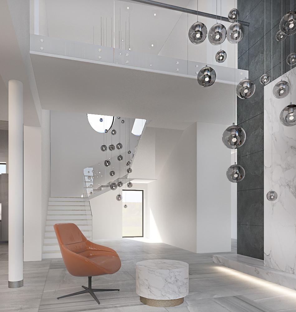 Современная квартира в светлых оттенках